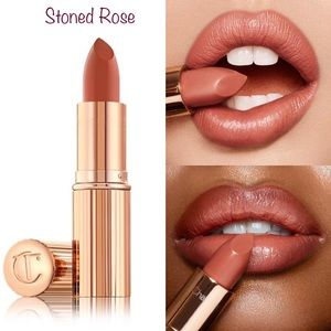 New Charlotte Tilbury Kissing Lipstick Stoned Rose